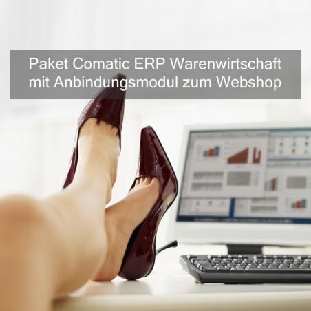 Paket Comatic ERP mit Shopschnittstelle