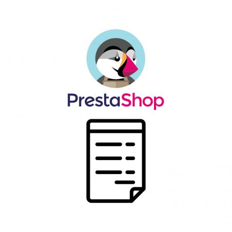 Prestashop Addon für Zahlung auf Rechnung