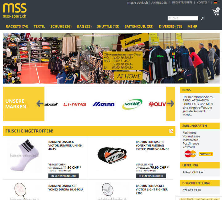www.badminton-onlineshop.ch